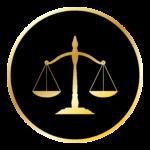 Bilancia simbolo della giustizia